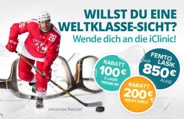 Herbst Rabatt bei ReLex SMILE 3D & Z-LASIK Premium Augenlaseroperationen