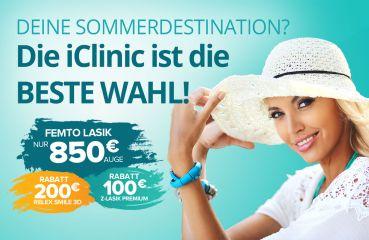 Sommerrabatt für ReLex SMILE 3D und Z‑LASIK