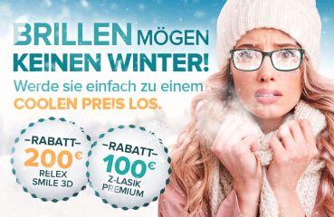 Brillen mögen keinen Winter!
